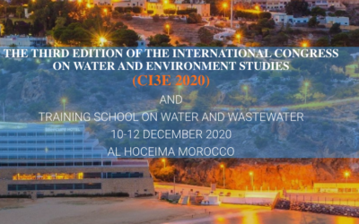 International congress on Water, Renewable energy and Environment studies (CI3E 2020)10-12 DECEMBER 2020; AL HOCEIMA – MOROCCO